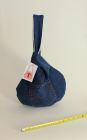 Denim Japanese knot bag