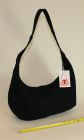Black Denim Hobo bag