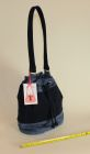 Denim Bucket bag (side view)