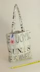 Cotton tote bag, lined