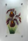 Irises - For sale £190 including chrome fixings, excluding postage