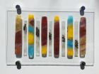 Abstract bars 1 -For sale £190 including chrome standoffs, excluding postage